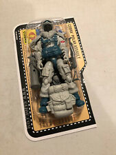 25TH GI JOE FIGURE COBRA POLAR ASSAULT SNOW SERPENT 100% COMPLETE W/FILE CARD