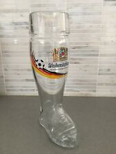 Weihenstephaner Glass Boot ~ World Cup 2018 Edition~ Das Boot ~Soccer Boot