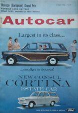 Autocar magazine 31/5/1963 featuring Daimler 2.5-litre V8 road test