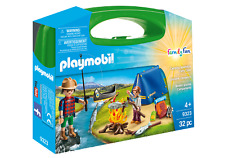 Playmobil 9323 Camping Carry Case (Playsets) for 3-4 Years, 5-7 Years