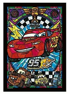 266 piece Jigsaw Puzzle Stained Art Disney Cars Lightning McQueen DSG-266-956