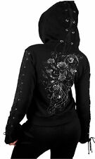 Cotton Hip Length Hooded Casual Tops & Shirts for Women