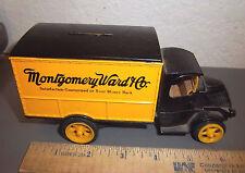 Montgomery Ward 1926 Mack Bull Dog Truck 6 1/2 inch die cast bank by Ertl