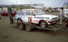 PHOTO  FORD CREDIT FIESTA CHAMPIONSHIP ROBIN PARSONS  SILVERSTONE 5.6.83 ONE OF