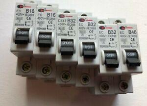 CGD EC DZ47 B16 16A B32 32A B40 MCB