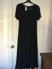 BEAUTIFUL LAURA ASHLEY SILK FULLY LINED NAVY BLUE OCCASION DRESS SIZE 12