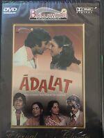 Adalat, DVD, Bollywood Ent, Hindu Language, English Subtitles, New