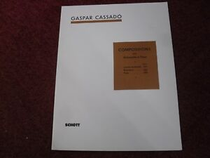 Gaspar Cassado Requiebros from Compositions for Violoncello and Piano