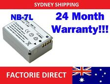 Replacement NB7L NB-7L Battery Canon PowerShot G10 G11 G12 SX30 IS