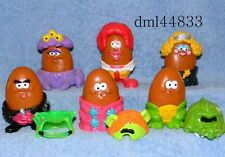 1996 McDonalds Halloween Monster McNugget Buddies Complete Set, Boys & Girls, 3+