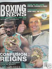 Boxing News 19 Aug 2005 Rahman McCall Vargas Tarver Witter Chavez Jnr,