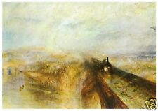 J M W Turner - Rain Steam and Speed - MEDICI POSTCARDS