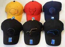 NBA Adidas Teams Assorted Fashion Color Pro Shape Curve Brim Cap Hat NEW!