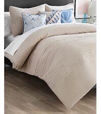 New Directions Vince 3 Piece King Comforter Set Khaki New