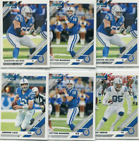 """LOT (12) 2019 DONRUSS """"ALL"""" INDIANAPOLIS COLTS ANDREW LUCK PEYTON MANNING - B113"""