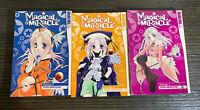 Magical x Miracle English Manga Volumes 1, 2, And 3