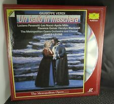 Laserdisc Laser Videodisc - Un Ballo In Maschera