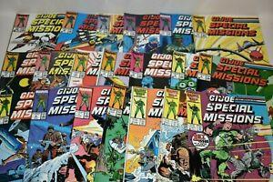 Lot of 20 Marvel G.I. Joe ARAH Comics Special Missions #1-10 #12-17  22 24 26 28