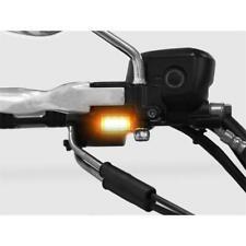 LED Blinker Lenker Armaturen Blinker für Harley Davidson Typ 3 silber
