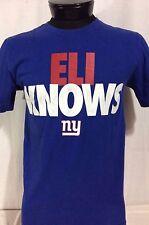 Nike New York Giants Eli Manning Eli Knows T-Shirt Medium