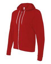 Bella  Canvas - Unisex Full-Zip Hooded Sweatshirt Mens Womens Zipped Hoodie 3739