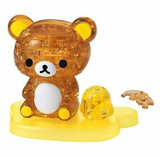 Rilakkuma & Kiiroitori 3D Crystal Puzzle 41 pieces Beverly Japan