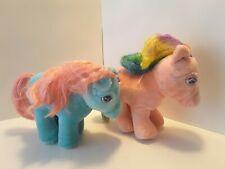 Vintage Hasbro Softies My Little Pony Bow Tie & Parasol