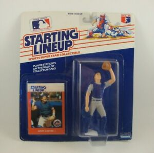 "Kenner Starting Lineup MLB Baseball Gary Carter Mets 3"" Figure New MIB"