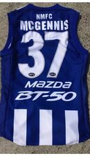 North Melbourne Kangaroos  Players Jersey Match  Game Guernsey Afl
