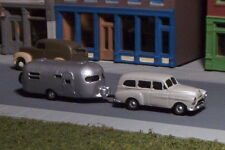 Station Wagon and Camper N Scale vehicle GREY