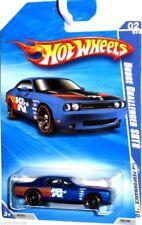 2010 Hot Wheels  Dodge Challenger SRT8  #100/240 [Blue] HW Performance  Diecast
