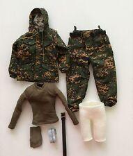 1/6 Dam Toys SPETSNAZ in Beslan -BDU + T-Shirt + Belt 78021