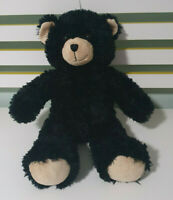 BLACK BUILD A BEAR 40CM TEDDY BEAR BAB
