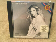 Barbra Streisand Classical Barbra MADE JAPAN CD 76 CBS Playgraded