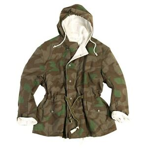 WW2 German Army WH Reversible Splintertarn & White Camo Jacket - WWII Repro New