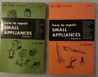 How to Repair Small Appliances Volume 1 & 2 Jack Darr 1971 Vintage PB LOT photo