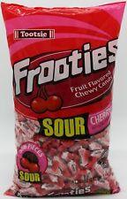 Frooties Sour Cherry Candy 360 Ct Tootsie Chews Bulk Candies Fruities 2.42 LBS