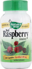 Red Raspberry Leaves, Nature's Way, 100 capsules