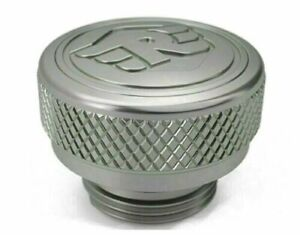 Machined Oil Filler Cap Silver For Royal Enfield Twins Interceptor 650cc