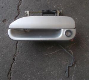 SKYLINE R32 GTST GTR 2/4Door outer door handle silver + lock passenger L/H #2B