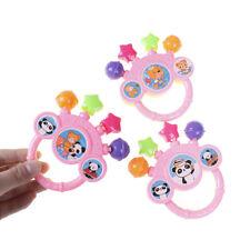 Cartoon Infant baby bell rattles newborns toys hand toy for children Sl