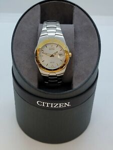 citizen eco-drive e110-k000378 ckw 200110 watch  Mens wr-100 Japan mvmt