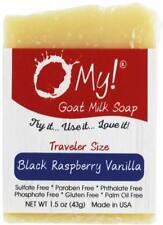 Goat Milk Soap Bar, O MY!, 1.5 oz Black Raspberry Vanilla