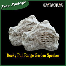 "2pcs of 30W Garden Speaker 6.5"" Rocky Full Range 70/100 V  WaterProof"