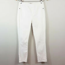 [ METALICUS ]  Womens White Jeans / Pants  | Size XS / S or AU 8 - 10