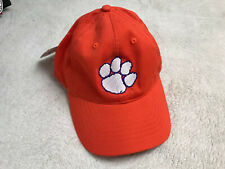 Clemson University Tigers Embroidered Hat Adjustable Orange NEW