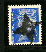 France Stamps Fancy Cancel 4 Point Star