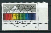 Mi-Nr. 1313 zentrisch Berlin Vollstempel - Bogenecke / Ecke 4 FN - Formnummer 3