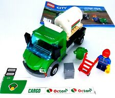 Genuine Lego 60052 Cargo Train tanker flatbed van truck With Driver Minifigure