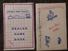 Vintage - Rare Game Books for Home Parties - Set of 2